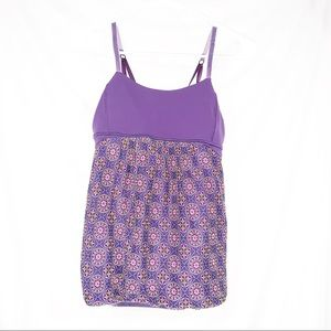 Ivivva girls purple tank size 14